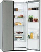 Klarstein Grand Host A • Kühl-Gefrierkombination • Doppeltür-Kühlschrank • Side-by-Side • Display Control • Glastüren • Total No Frost • Kühlschrank: 322 Liter • Gefrierschrank: 152 Liter • silber
