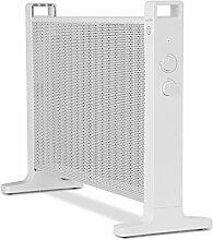 Klarstein HeatPalMica20 • Wärmewellenheizung • Elektroheizung • Standheizung • 1000 W oder 2000 W • ohne Gebläse • leiser Betrieb • stufenlose Temperaturregler • IP24: Spritzwasser geschützt • weiß