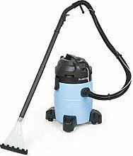 Klarstein Reinraum 3G • Teppichreiniger • Nasssauger • Trockensauger • starke 1400 Watt • teflonbeschichtete Druckpumpe • großer 35 Liter Tank • Reinigungsmitteltank • Wasserfilter • schwarz-blau