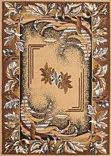 Klassicher Orient Teppich Muster Beige 240x330 cm