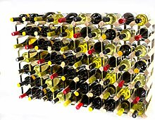 Klassisch 70 Flasche Kiefernholz und verzinktem