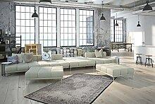 Klassisch Orient Teppich Ongalo - Suong Silber 200cm x 290cm