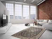 Klassisch Orient Teppich Thalus - Sahar Schwarz 160cm x 230cm