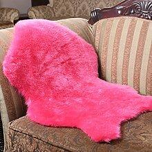 klassisch Soft Home Teppich Schaffell Stuhl Deckel