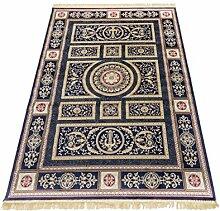 Klassisch Teppich Glaenzend-Look Living Teppich RUBINE 350-BLU 140X190