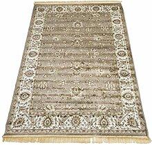 Klassisch Teppich Orient Sarouk Top Preis Guenstig Teppich RUBINE 492-grau 200X290