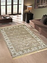 Klassisch Teppich Orient Sarouk Top Preis Guenstig Teppich RUBINE 492-grau 160X230