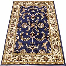 Klassisch Teppich Ziegler Orient Dessin Teppich blau SALON 716-BLU 300X400