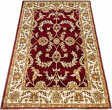 Klassisch Teppich Ziegler rot Top Preis Guenstig Teppich SALON 716-ROSSO 160X230