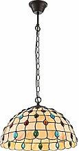 Klassische 1-flg Pendel Hänge Lampe Bronze Antik