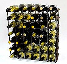 Klassische 42Flasche Eiche dunkel gebeiztem Holz