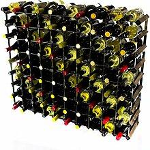 Klassische 90 Flasche Eiche dunkel gebeiztem Holz