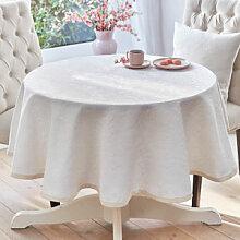 Klassische Matelassé-Tischdecke mit elegantem