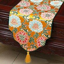 Klassische Moderne Europäische Art-Tabellen-Markierungsfahnen-klassische Tischdecke-Kaffeetisch-Tuch-Bett-Tuch,A4