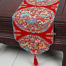 Klassische Moderne Europäische Art-Tabellen-Markierungsfahnen-klassische Tischdecke-Kaffeetisch-Tuch-Bett-Tuch,A2