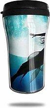 Klassische Reise Becher Mermaid Travel Tumbler Cup
