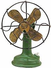 Klassische Retro Art-Ventilator-Modelle Hauptdekoration-Verzierung(der alte Fan)