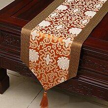 Klassische Tischdecke/Bedeckung-tuch/Tee Tischdecke/Der Chinesischen Tischdecke-C 33x200cm(13x79inch)
