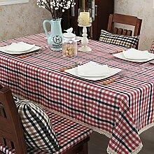 Klassische Tischdecke/einfache und moderne