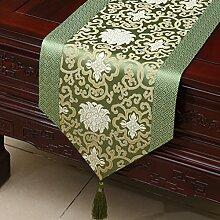 Klassische Tischl?ufer/Couchtisch europ?ischer moderne runder Tisch Tuch-E 33x150cm(13x59inch)