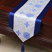 Klassische Tischl?ufer/Couchtisch europ?ischer moderne runder Tisch Tuch-A 33x300cm(13x118inch)