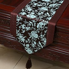 Klassische Tischl?ufer/Couchtisch europ?ischer moderne runder Tisch Tuch-N 33x200cm(13x79inch)