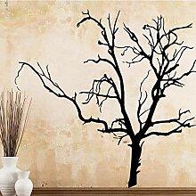 Klassische Welke Baum PVC Wandtattoos Wohnkultur