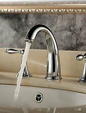 klassischen Messing Waschbecken Wasserhahn (verbreitet)