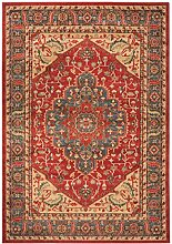 Klassischer Teppich Orientalisch Windsor Rug 240x340cm WIN08 blau/ro