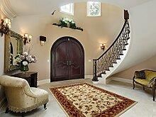 Klassischer Teppich TERRA 67 x200cm 05 Beige