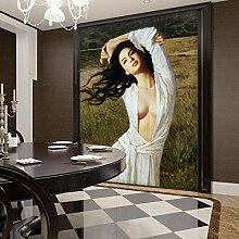 Klassisches Wandbild 3D-Tapete Für Wände
