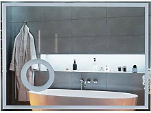 kleankin LED Badezimmerspiegel Wandspiegel