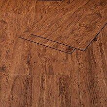 Klebe Vinylboden Selbstklebend Holzoptik Eiche