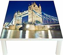 Klebefieber Design-Tisch London Tower Bridge im