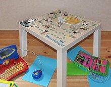 Klebefieber Design-Tisch Mäusejagd B x H: 55cm x