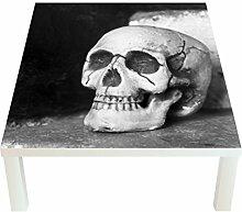 Klebefieber Design-Tisch Totenkopf B x H: 55cm x