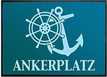 Klebefieber Fußmatte Ankerplatz B x H: 85cm x 60cm