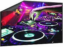Klebefieber Fußmatte DJ Pult B x H: 70cm x 50cm