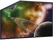 Klebefieber Fußmatte Farbenfroher Saturn B x H: