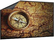 Klebefieber Fußmatte Kompass B x H: 85cm x 60cm