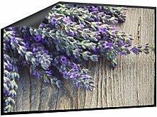 Klebefieber Fußmatte Lavendel B x H: 70cm x 50cm
