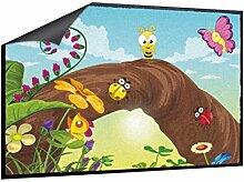 Klebefieber Fußmatte Lebendige Wiese B x H: 70cm x 50cm