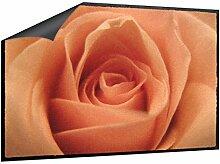Klebefieber Fußmatte Rose B x H: 70cm x 50cm