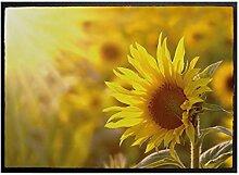 Klebefieber Fußmatte Sonnenblume B x H: 70cm x