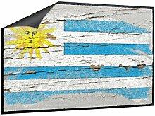 Klebefieber Fußmatte Uruguay B x H: 85cm x 60cm