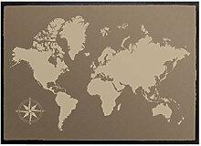 Klebefieber Fußmatte Weltkarte B x H: 70cm x 50cm