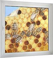Klebefieber Sichtschutz Arbeitsbienen B x H: 100cm x 100cm