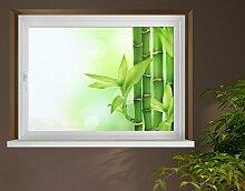 Klebefieber Sichtschutz Bambus B x H: 90cm x 60cm
