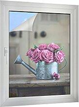 Klebefieber Sichtschutz Gießkanne mit Rosen B x H: 75cm x 100cm