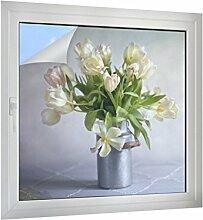 Klebefieber Sichtschutz Tulpen B x H: 40cm x 40cm